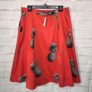 ❤️ Ann Taylor Pineapple Skirt